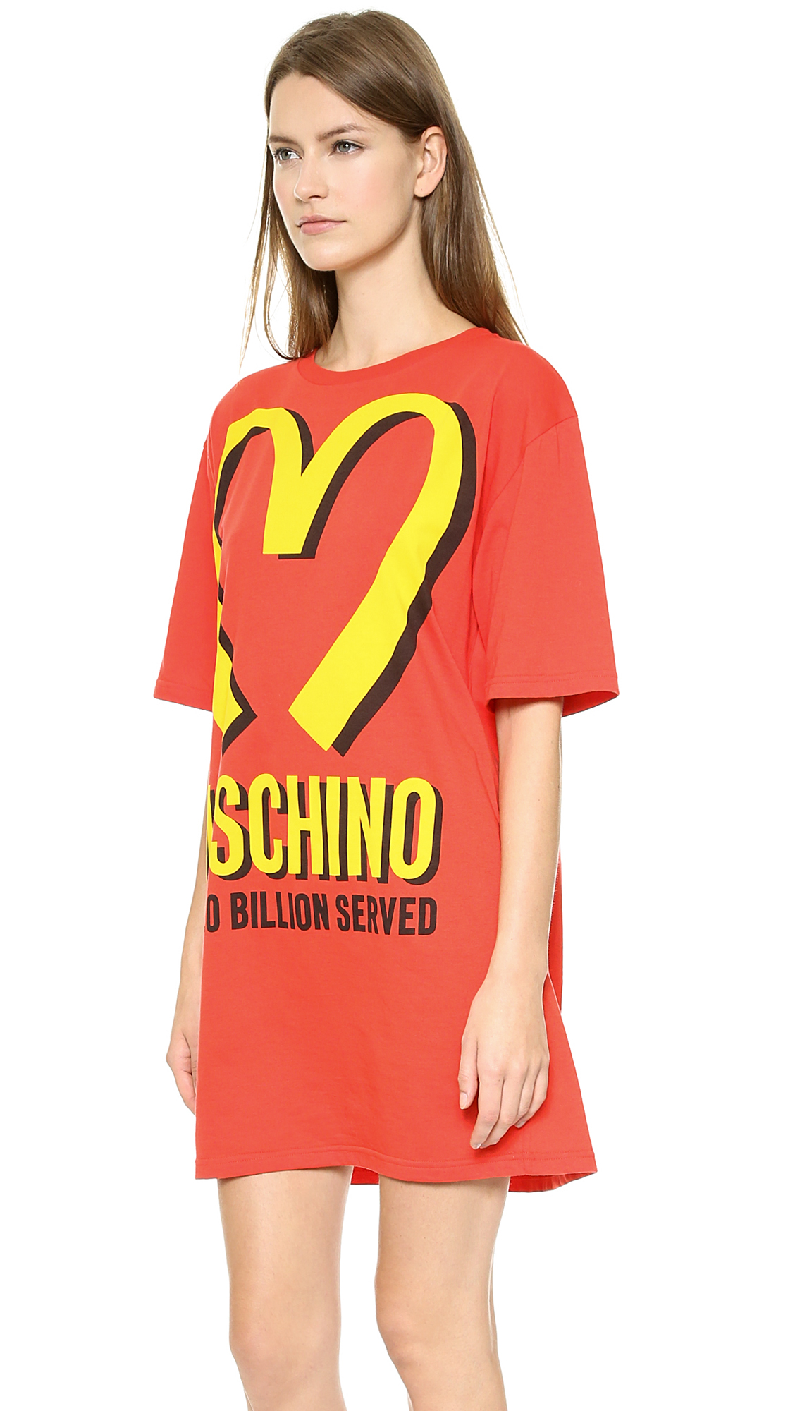 14e72d58b47 Moschino Moschino Arches T-Shirt Dress