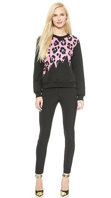 Moschino Cheap and Chic Long Sleeve Sweatshirt