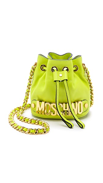 Moschino Mini Drawstring Bag