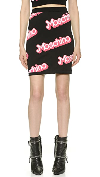 Moschino Knit Skirt