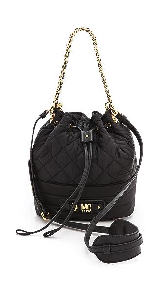 Moschino Nylon Bucket Bag