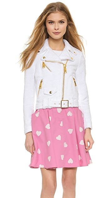 Moschino Terry Moto Jacket