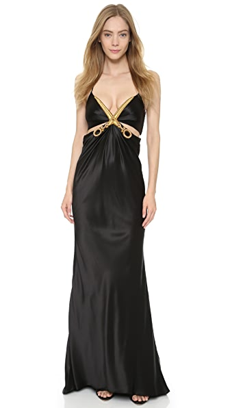 Moschino Cutout Bodice Dress