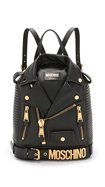 Moschino Motorcycle Backpack