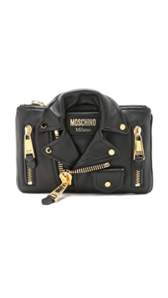 Moschino Motorcycle Clutch