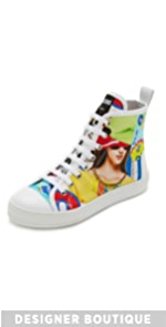 Printed Sneakers                Moschino
