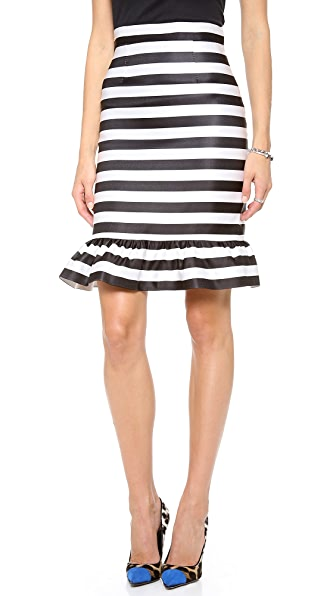 Mother of Pearl Bella Striped Skirt