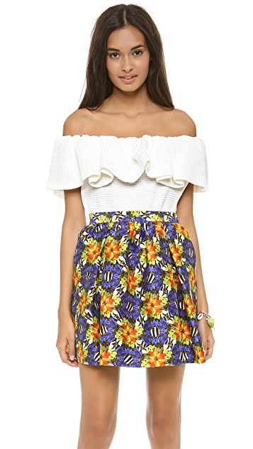 Mother of Pearl Bandeau Top