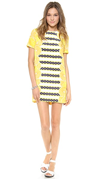 Mother of Pearl Lemon T-Shirt Dress