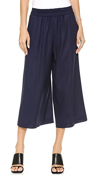 Mother of Pearl Minos Crepe Culottes