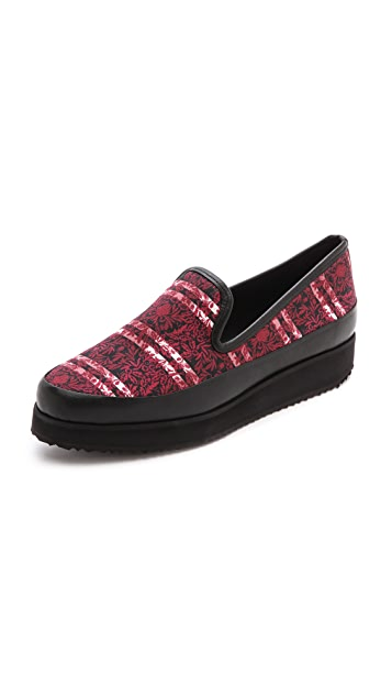Mother of Pearl Kennedy Slip On Sneakers
