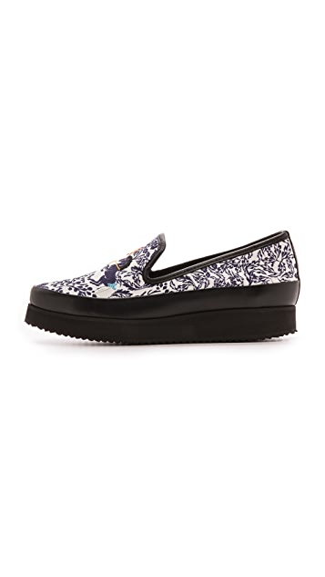 Mother of Pearl Kennedy Unicorn Slip On Sneakers