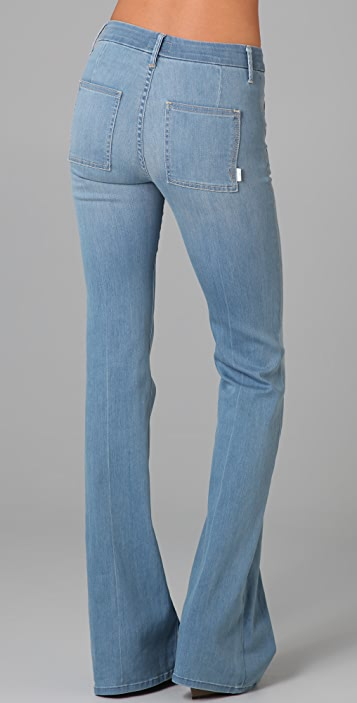 MOTHER The Drama Wide Leg Jeans