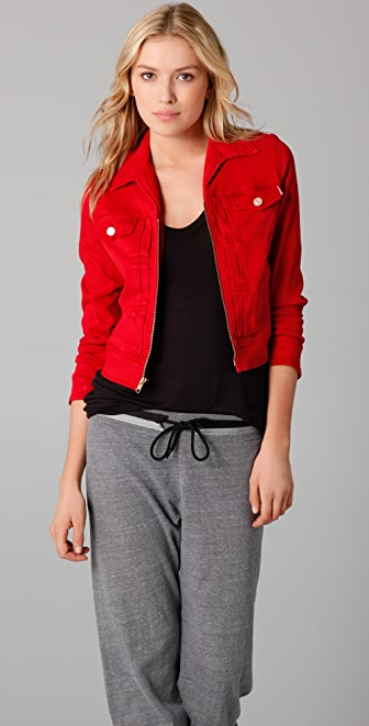 MOTHER Pop! Cropped Jacket