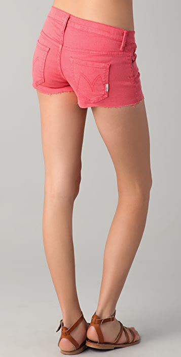 MOTHER Frayed SNS Shorts