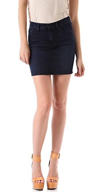 MOTHER High Waist Miniskirt