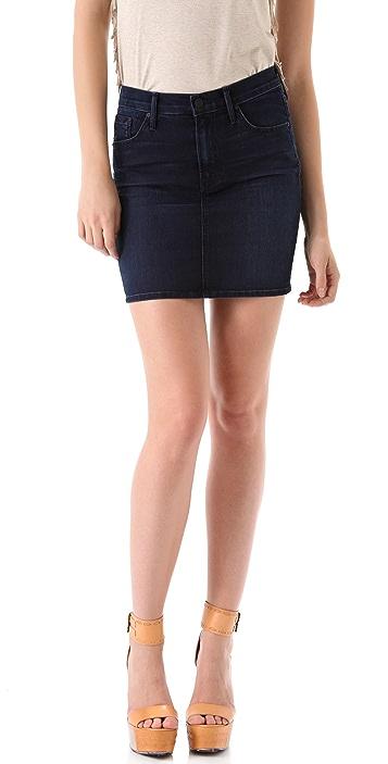 MOTHER High Waist Miniskirt