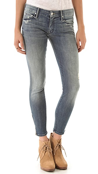 MOTHER The Looker Zip Jeans