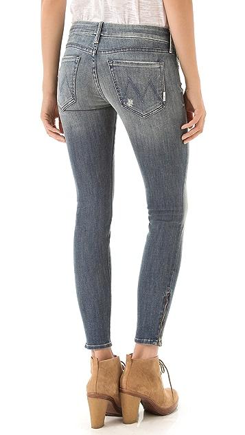 MOTHER The Looker Zip Jeans