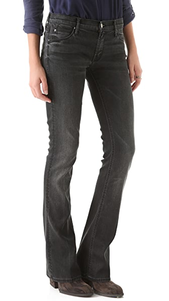 MOTHER Runaway Skinny Flare Jeans
