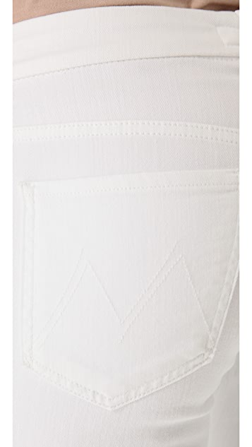 MOTHER High Waist Looker Skinny Jeans
