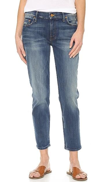MOTHER The Dropout Boyfriend Jeans