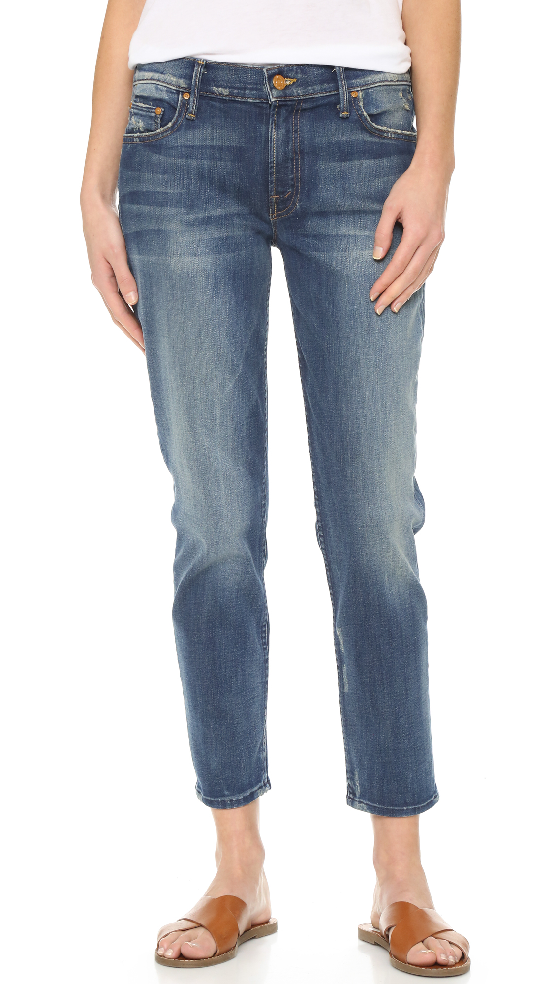 MOTHER The Dropout Boyfriend Jeans | SHOPBOP Extra 25% Off Sale ...