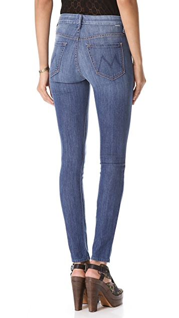 MOTHER High Rise Looker Skinny Jeans