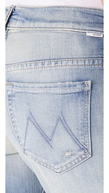 MOTHER The Slacker Frayed Jeans