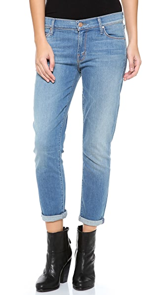 MOTHER Skinny Not Skinny Slouchy Jeans