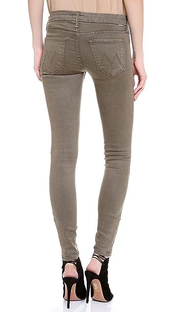 MOTHER The Looker Zip Skinny Jeans