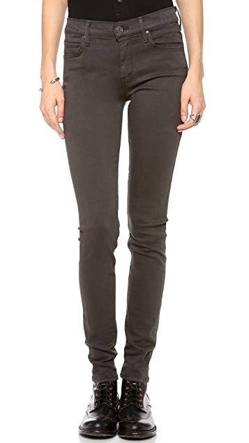 MOTHER Freja + MOTHER Muse Straight Skinny Jeans
