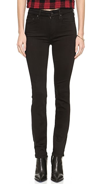 MOTHER The High Waist Looker Skinny Jeans