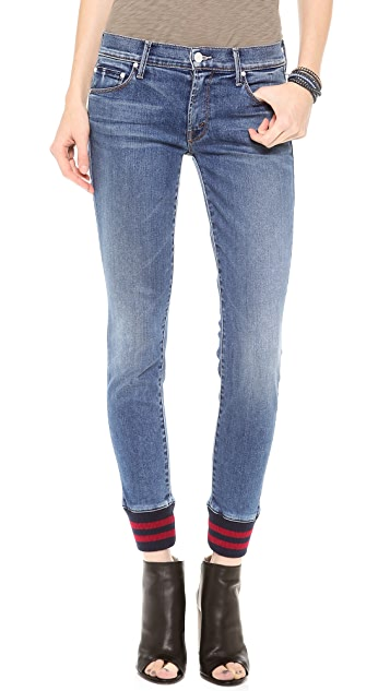 MOTHER The Trainer Skinny Jeans