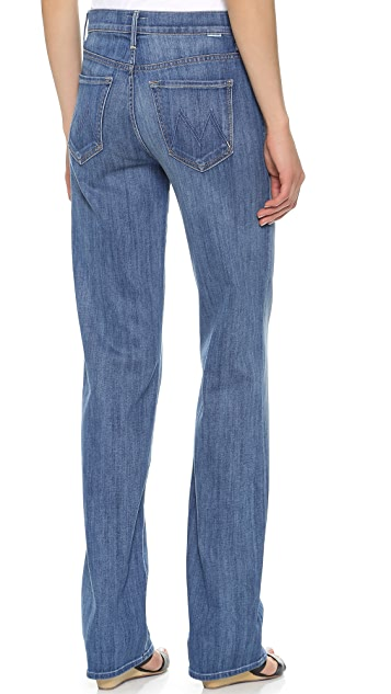 MOTHER The Socialite High Rise Loose Straight Jeans