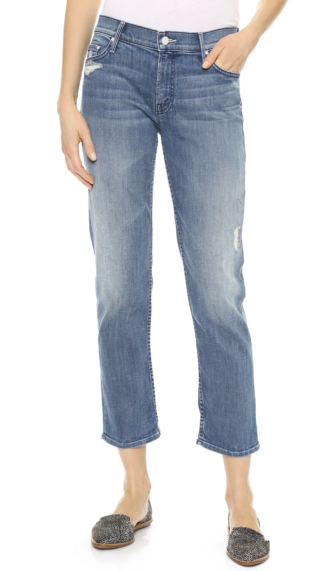 MOTHER The Dropout Slouchy Skinny Jeans | SHOPBOP