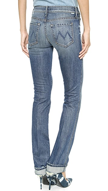 MOTHER Holy Rascal Straight Leg Jeans