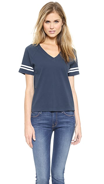 MOTHER The Cropped Varsity Tee