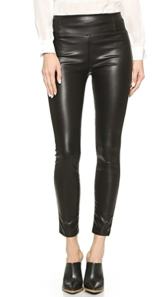 MOTHER The Sandy High Rise Faux Skinny Pants