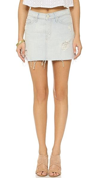MOTHER The Big A Line Miniskirt