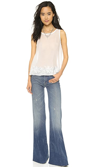 MOTHER The Roller Flare Jeans