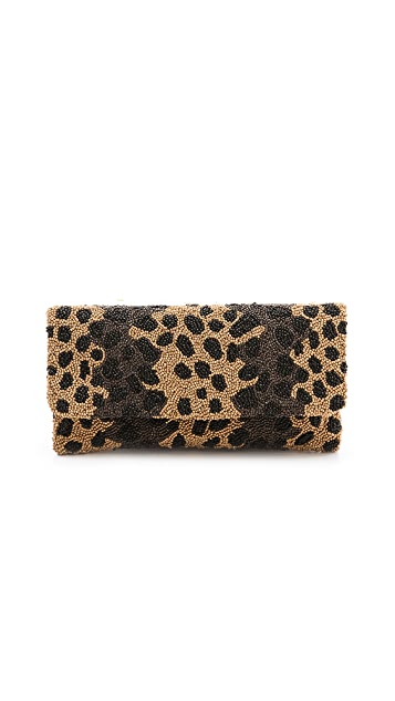 MOYNA Cheetah Clutch