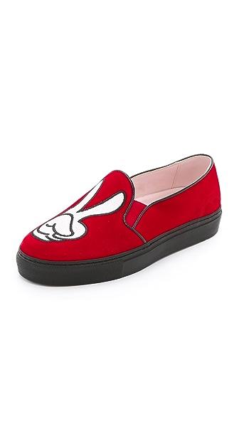 Kupi Minna Parikka online i prodaja Minna Parikka Glovin' It Slip On Sneakers Red haljinu online
