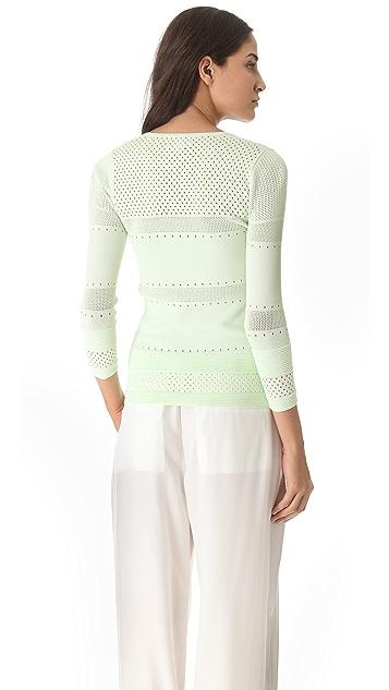 M.PATMOS 3/4 Sleeve Sweater