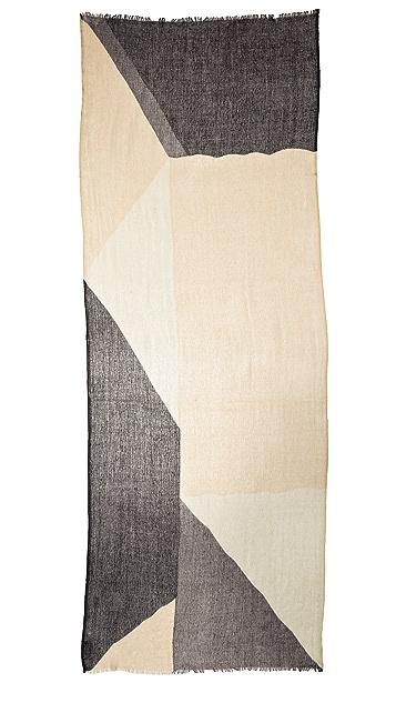 M.PATMOS Abstract Print Pashmina