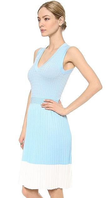 M.PATMOS Grid V Dress