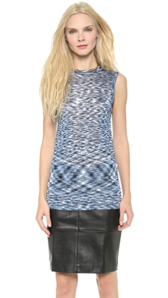 M.PATMOS Sleeveless Space Dyed Tank