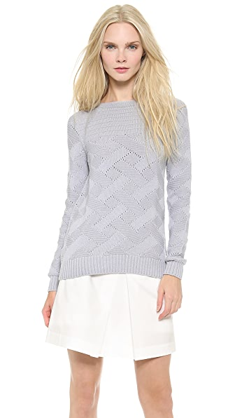 M.PATMOS Basketweave Sweater