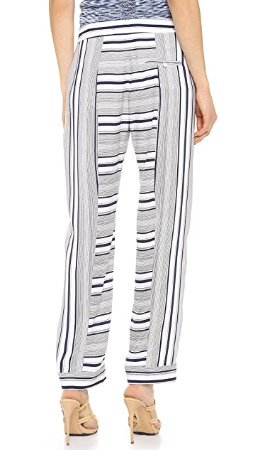 M.PATMOS Striped Pajama Pants