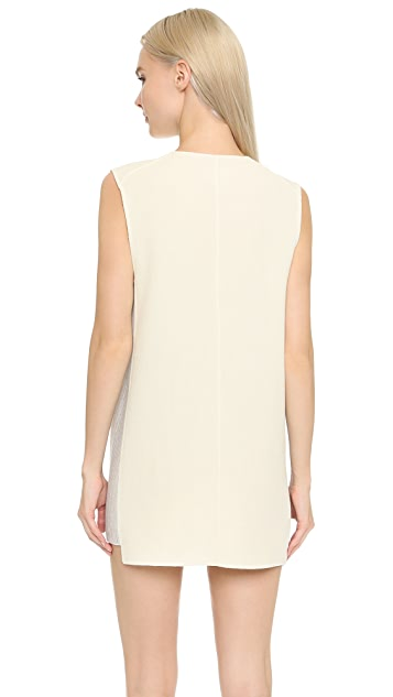 M.PATMOS V Neck Tunic Dress